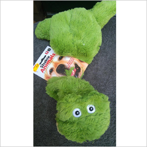 Krokodil-met-piep-groot
