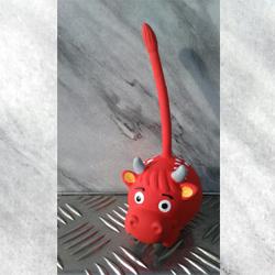 Piepbeest-Piepbal-rood